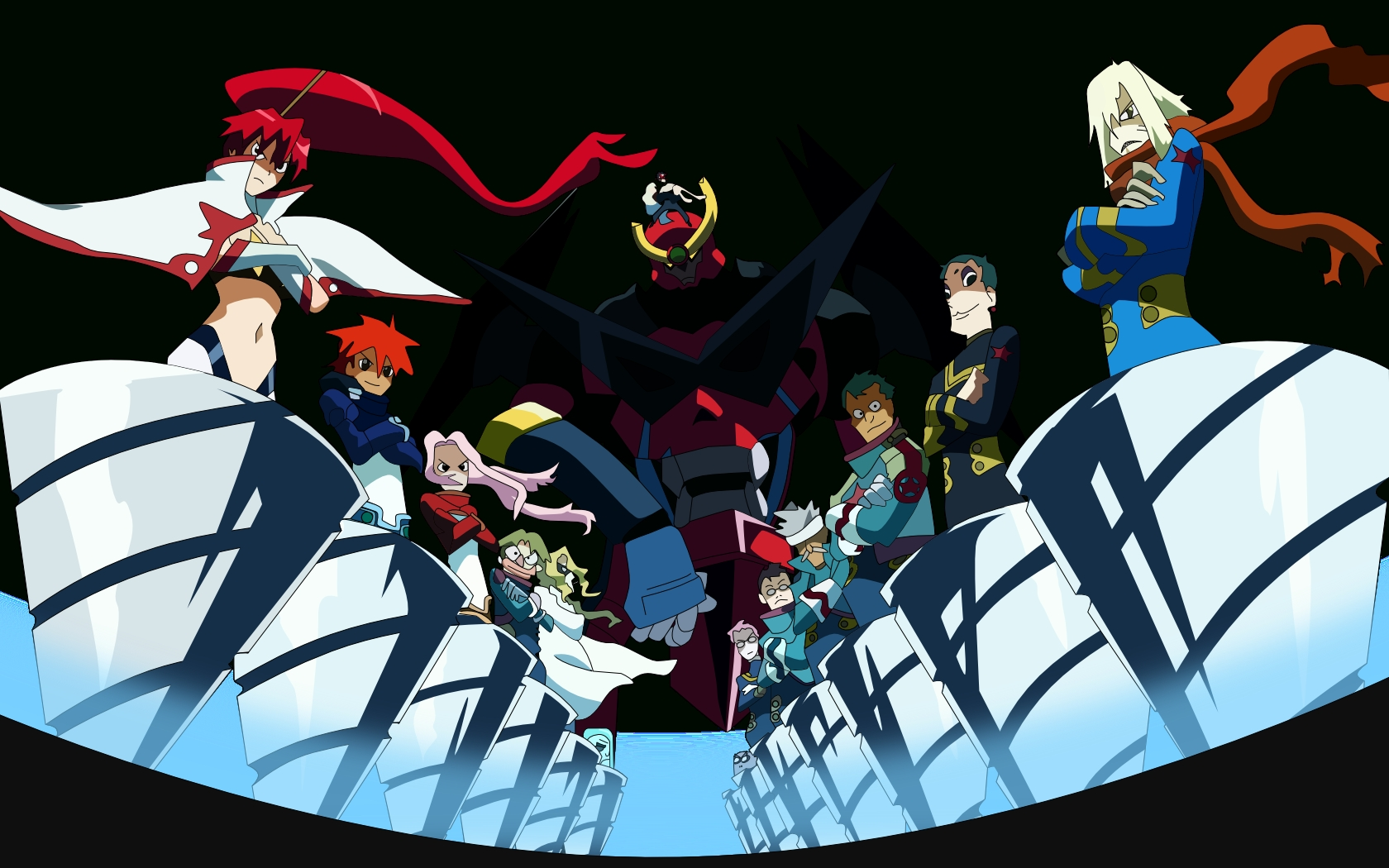 tengen toppa gurren lagann wallpapers - wallpaper cave