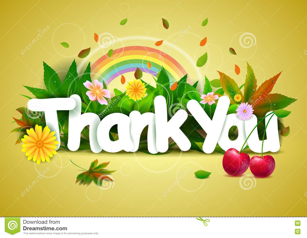 thank you wallpaper background stock vector - illustration of