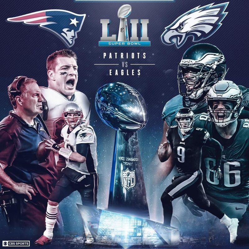 10 Most Popular Super Bowl Lii Wallpaper FULL HD 1080p For PC Desktop 2018 free download the battle to settle it all super bowl lii between new england 800x800