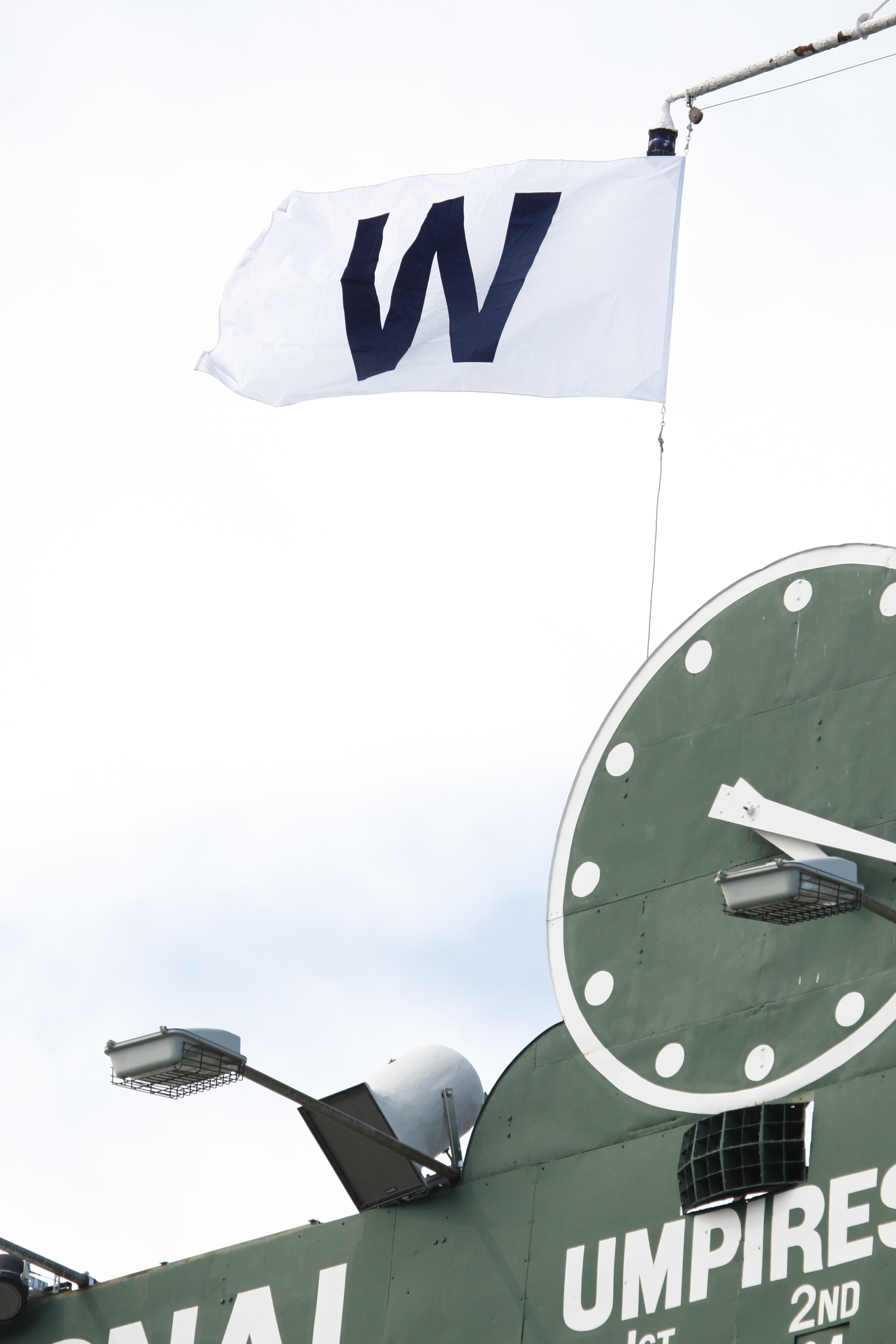 the cubs w flag tradition. | wrigley field | pinterest | flags