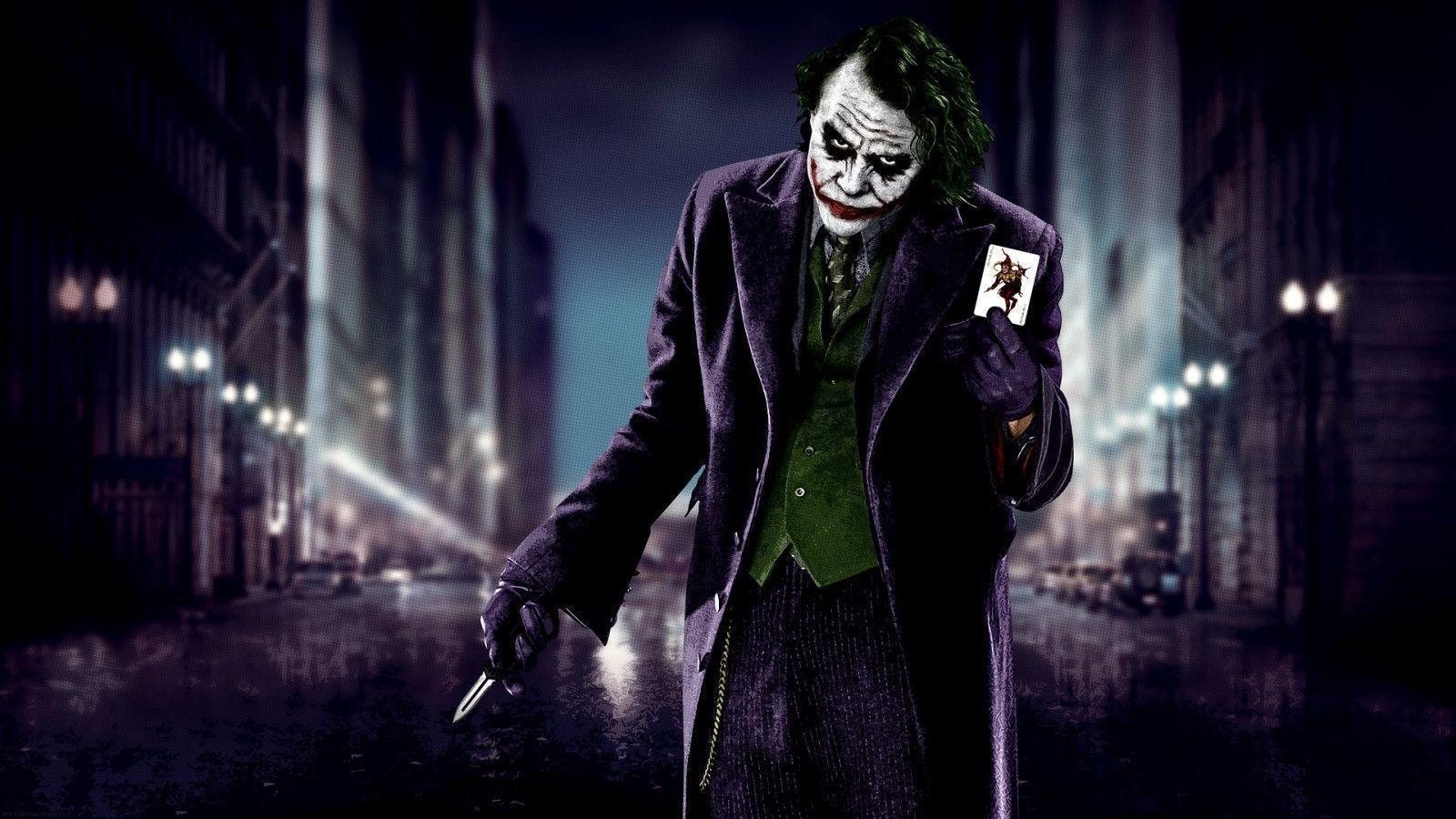 the dark knight joker wallpapers - wallpaper cave