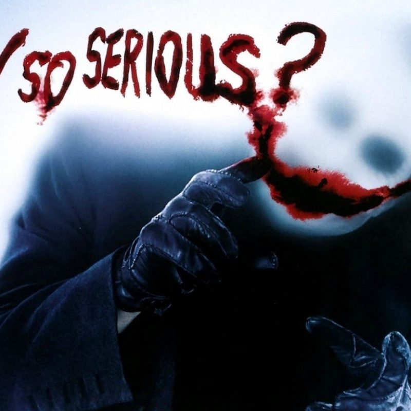 10 Most Popular Why So Serious Image FULL HD 1080p For PC Desktop 2020 free download the dark knight why so serious extrait vostfr youtube 800x800