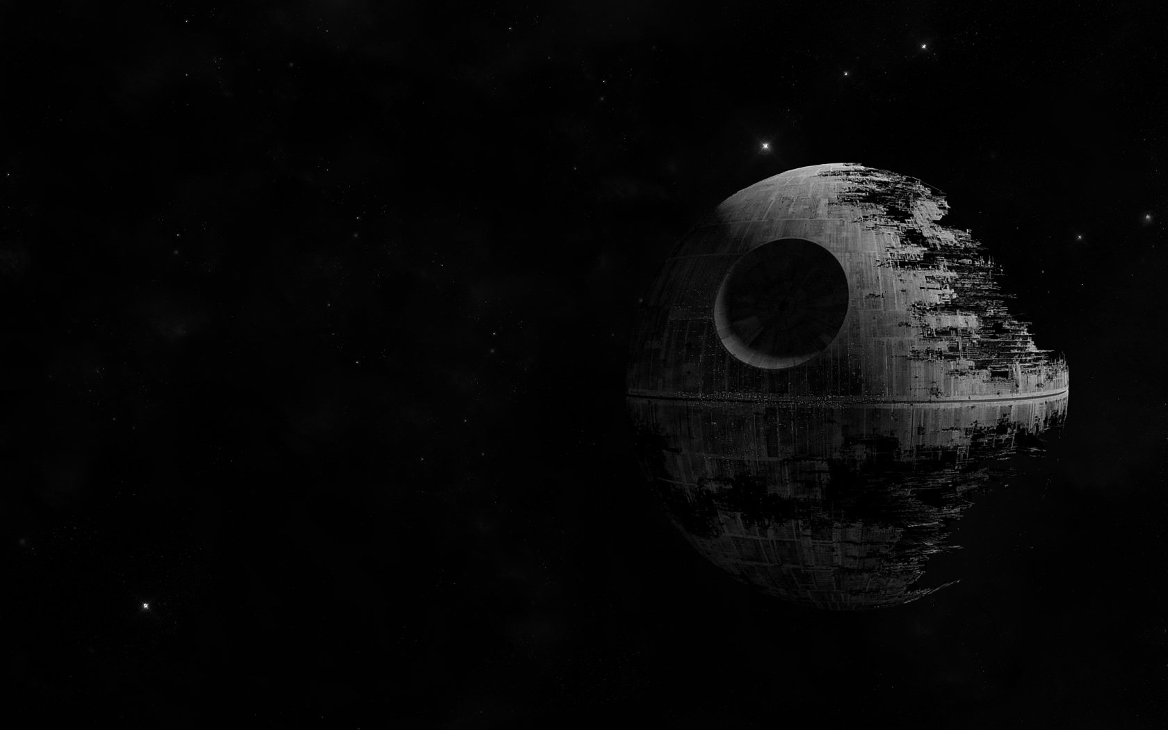 the death star was the empire's ultimate weapon fond d'écran and