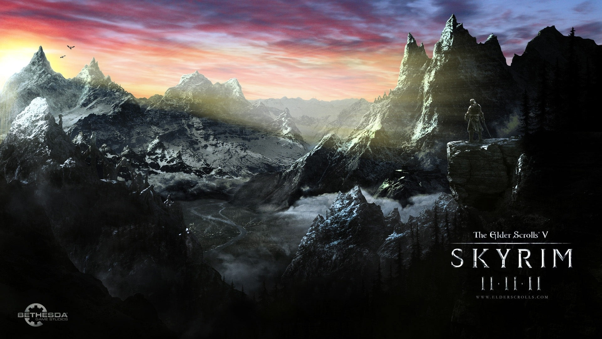 the elder scrolls v: skyrim hd wallpapers #15 - 1920x1080 fond d