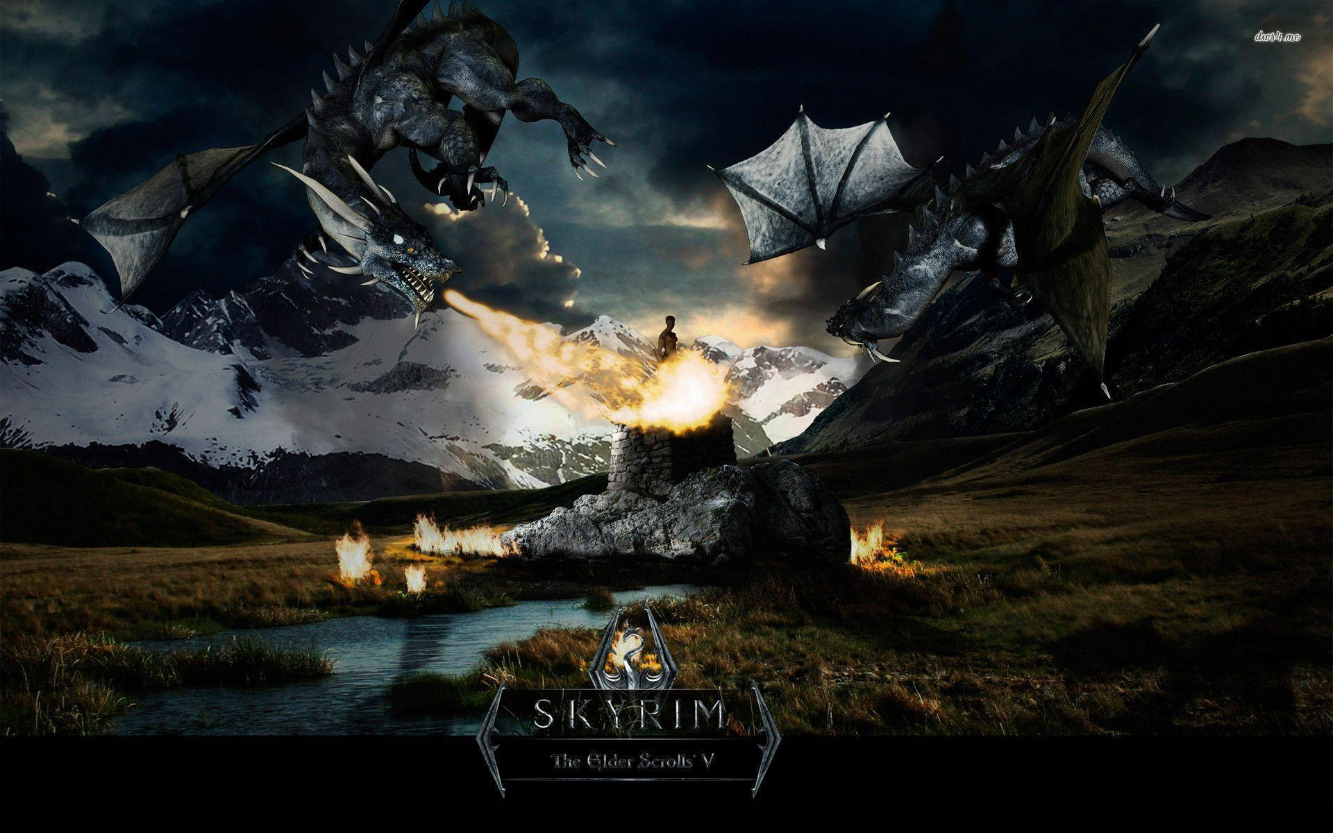 the elder scrolls v skyrim wallpapers - wallpaper cave
