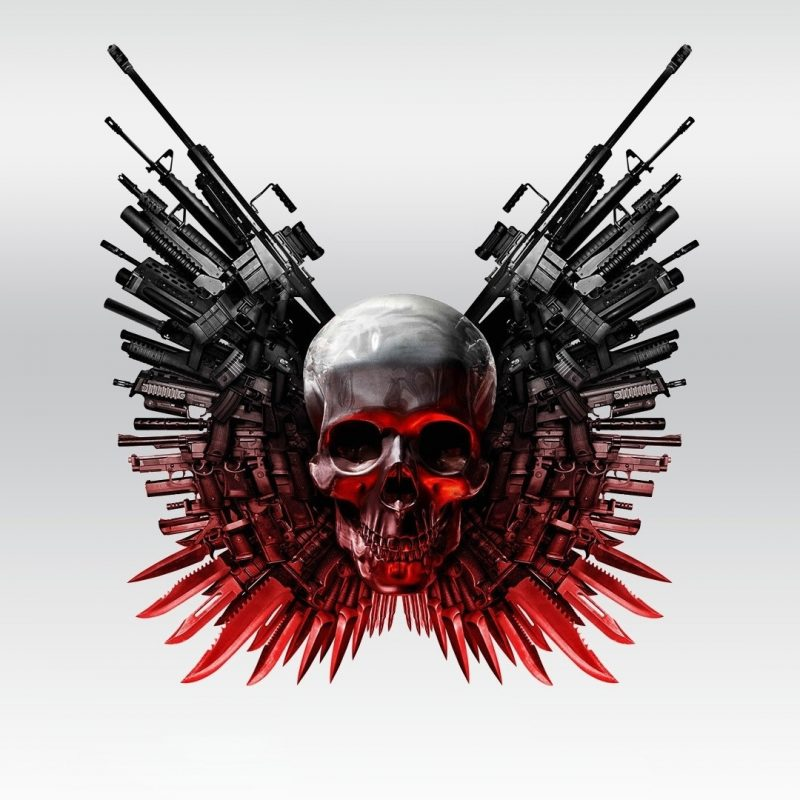 10 New Cool Skull And Guns Wallpapers FULL HD 1080p For PC Desktop 2018 free download the expendables 2 skull and guns wallpaper movie wallpapers 53468 800x800