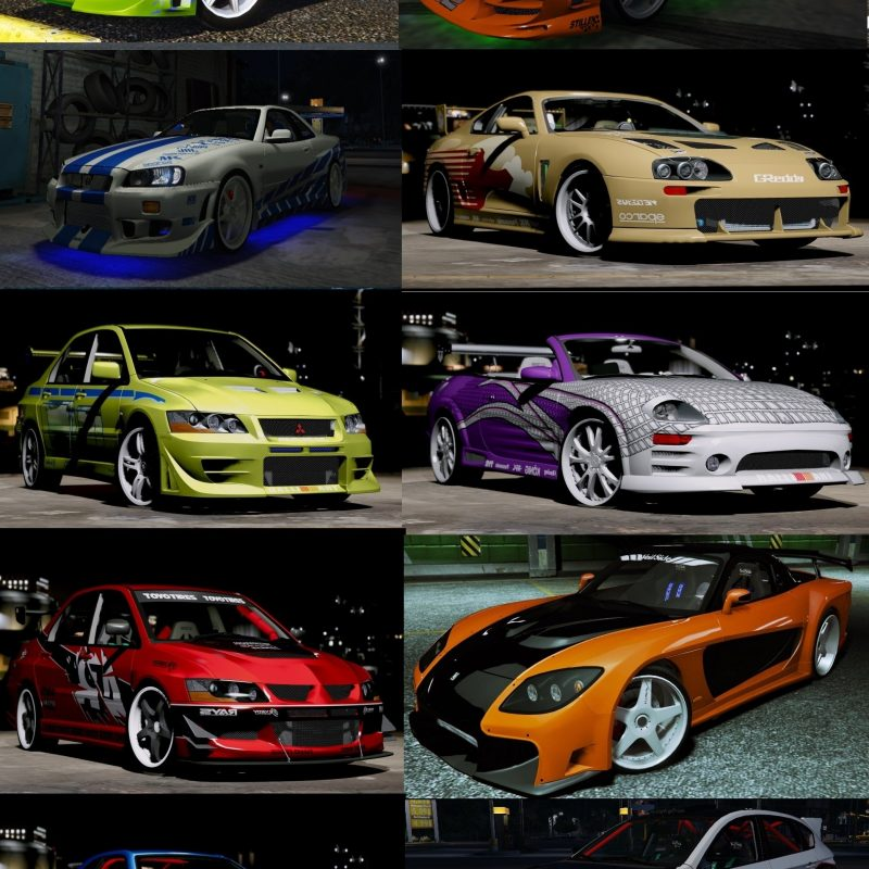 10 Top Fast And Furious Cars Images FULL HD 1920×1080 For PC Background 2021 free download the fast and the furious cars pack hq add on animated gta5 mods 800x800
