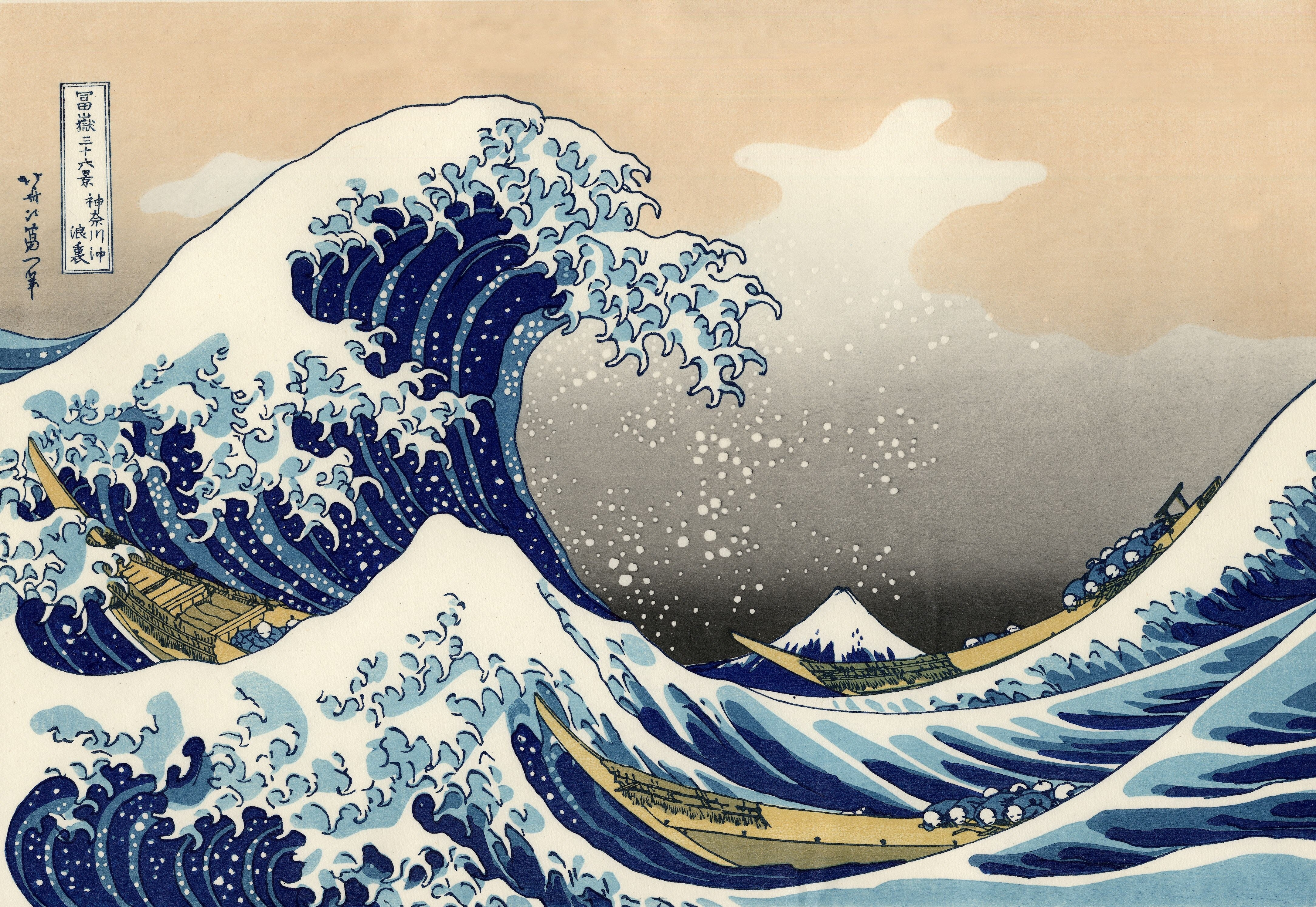 the great wave off kanagawa 4k ultra hd wallpaper and background