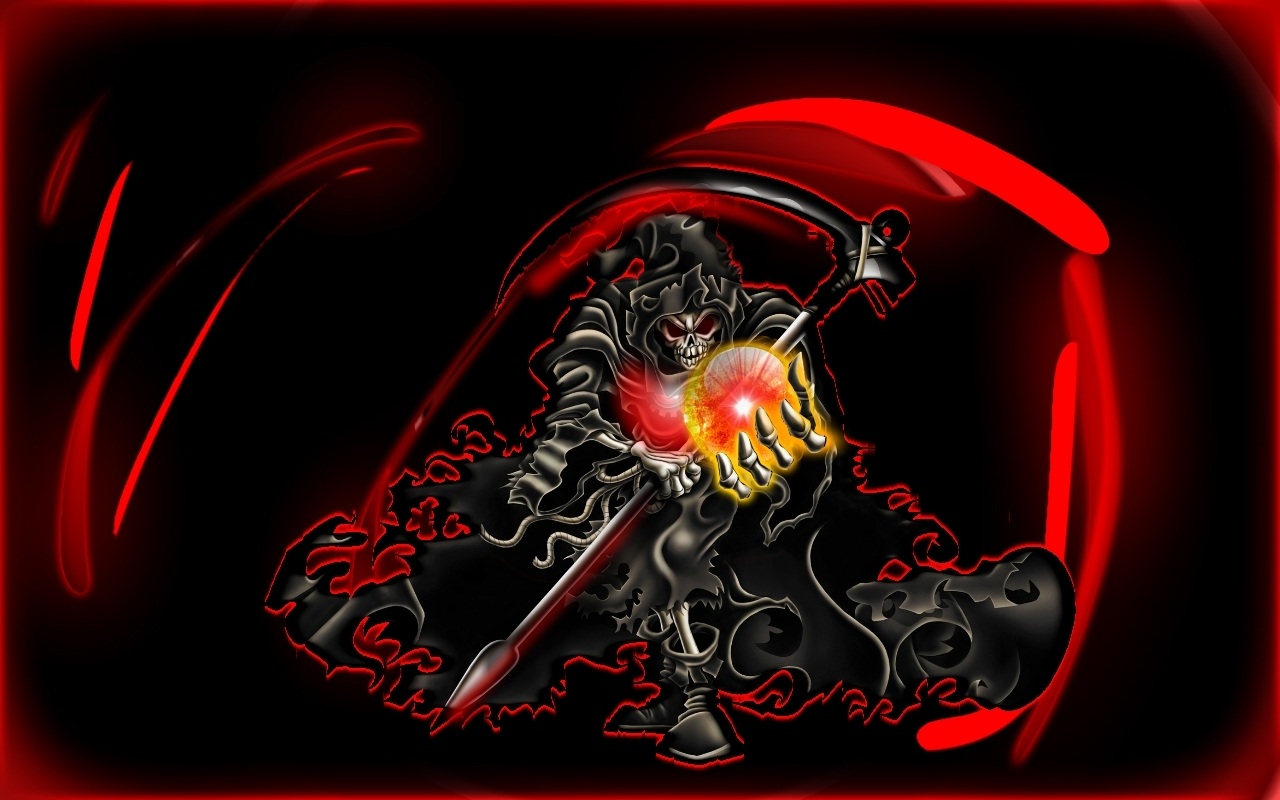 the grim reaper wallpaper and background image | 1280x800 | id:202387