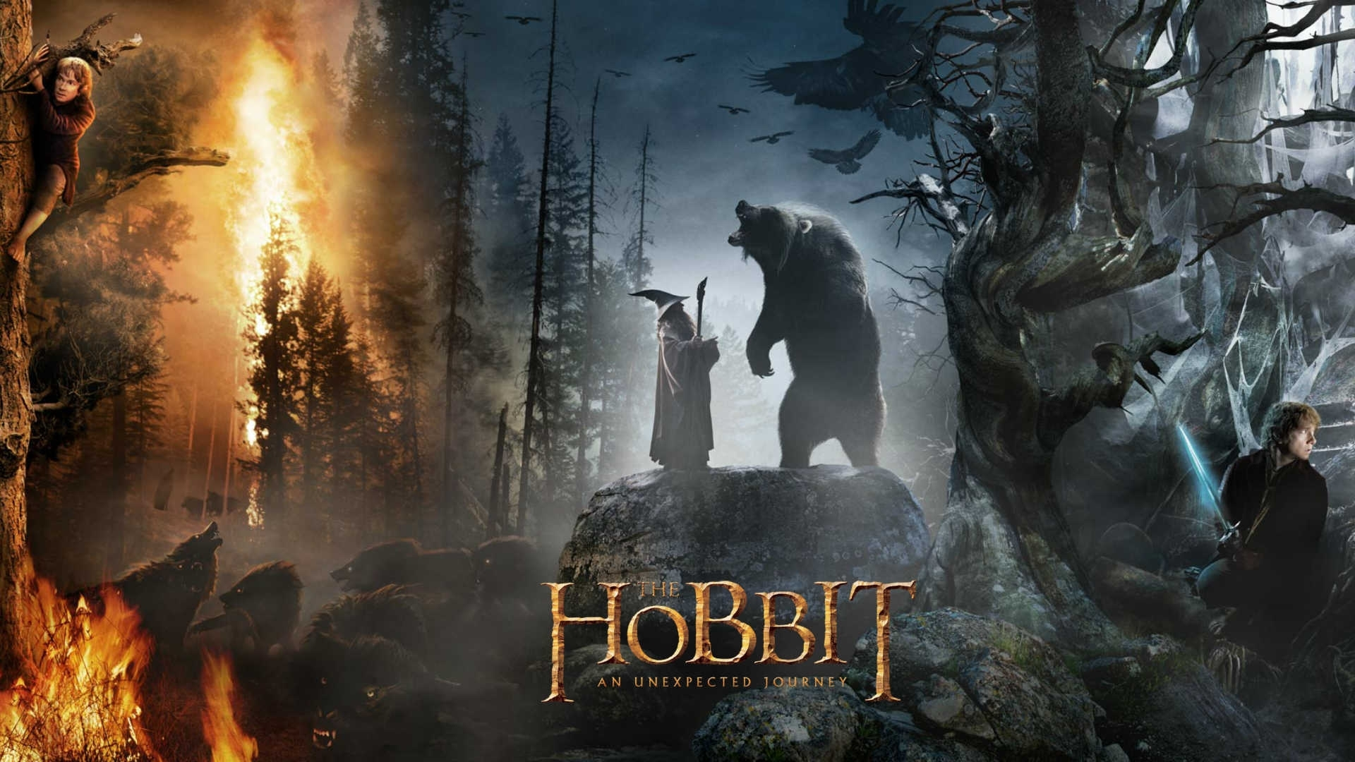 the hobbit: an unexpected journey full hd wallpaper and background