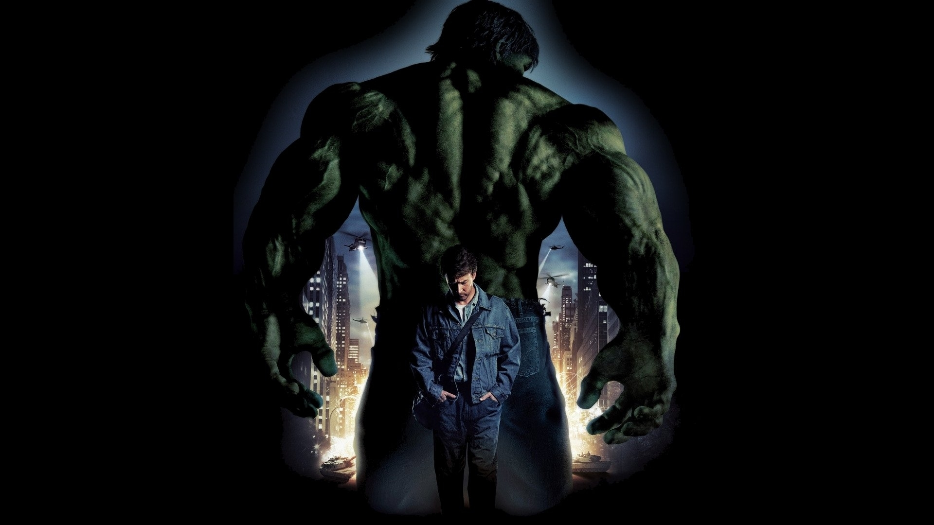 the incredible hulk full hd wallpaper and background image