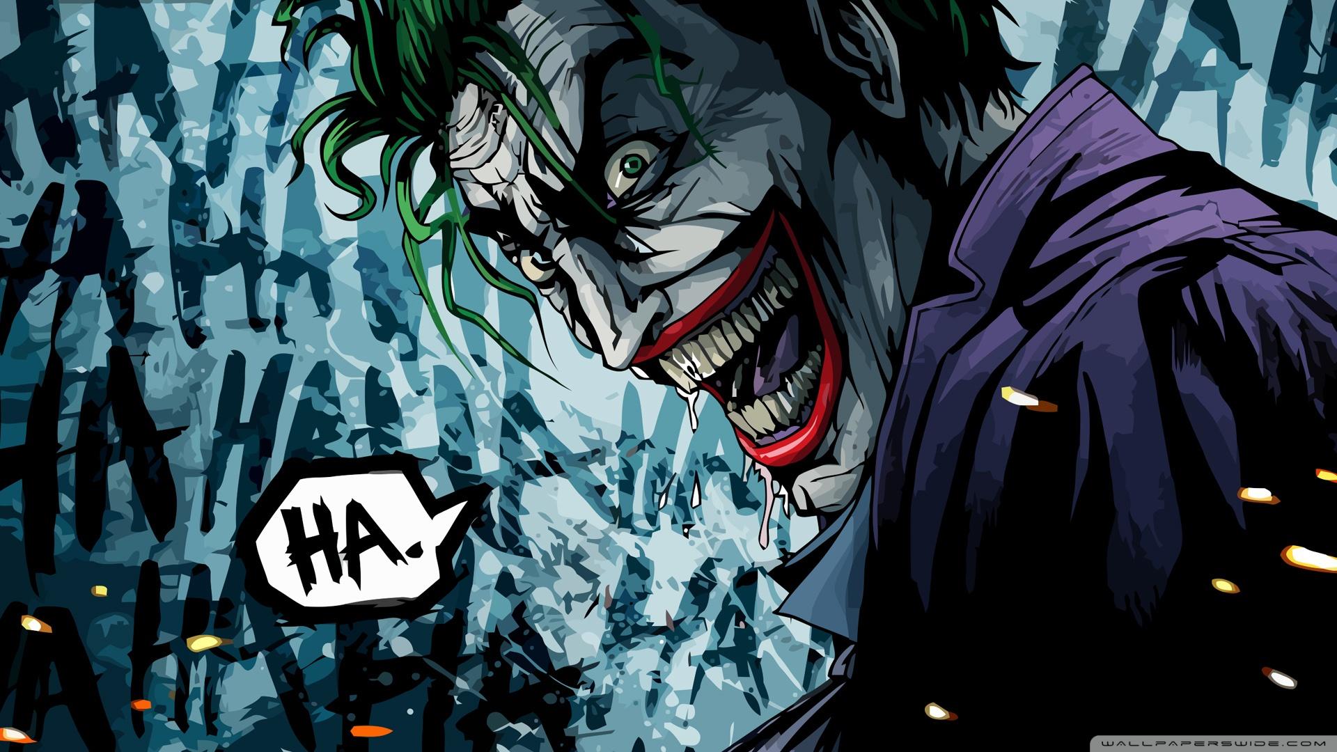 the joker illustration ❤ 4k hd desktop wallpaper for 4k ultra hd tv