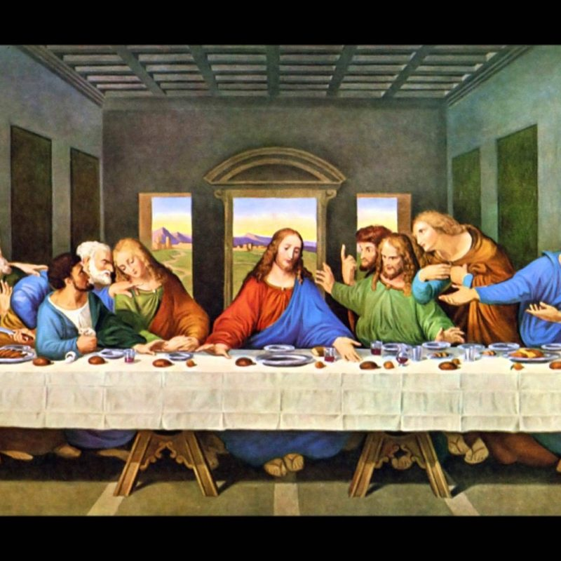10 Most Popular Last Supper Images Original Picture FULL HD 1920×1080 For PC Desktop 2021 free download the last supper youtube 800x800