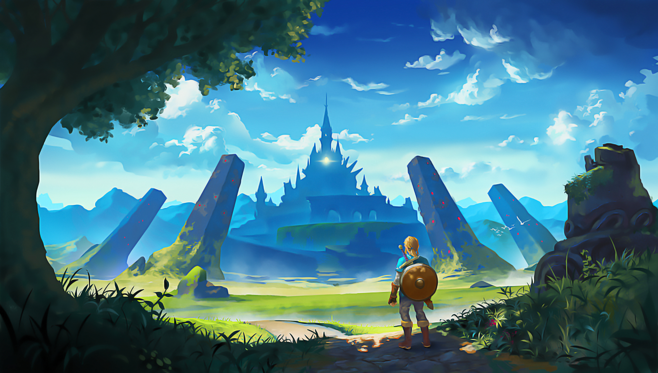 the legend of zelda: breath of the wild hd wallpaper | hintergrund