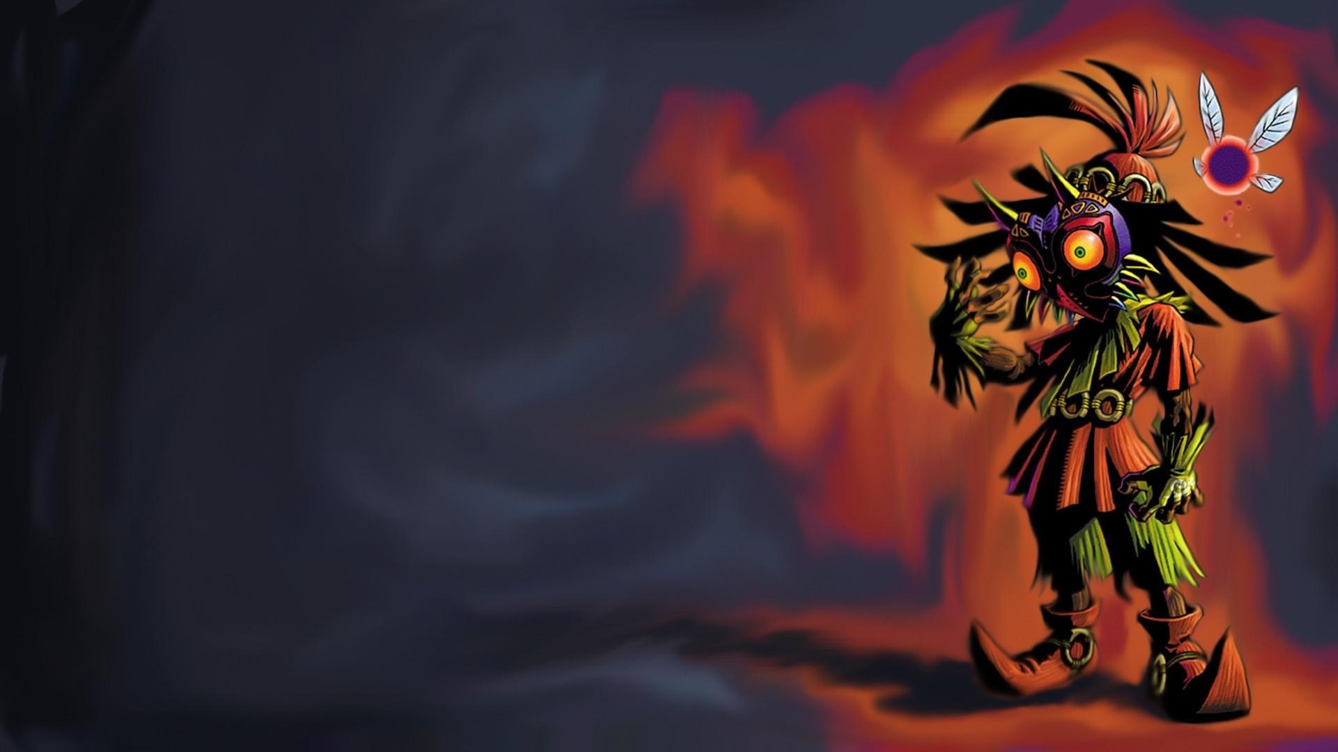 the legend of zelda: majora's mask full hd wallpaper and background