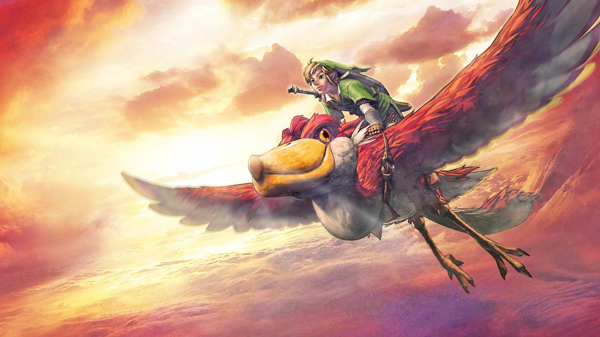 the legend of zelda: skyward sword full hd fond d'écran and arrière