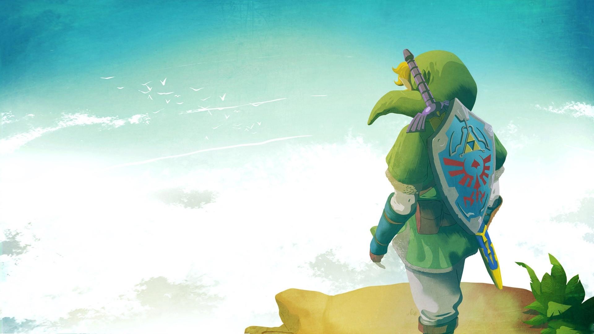 the legend of zelda: skyward sword full hd wallpaper and background