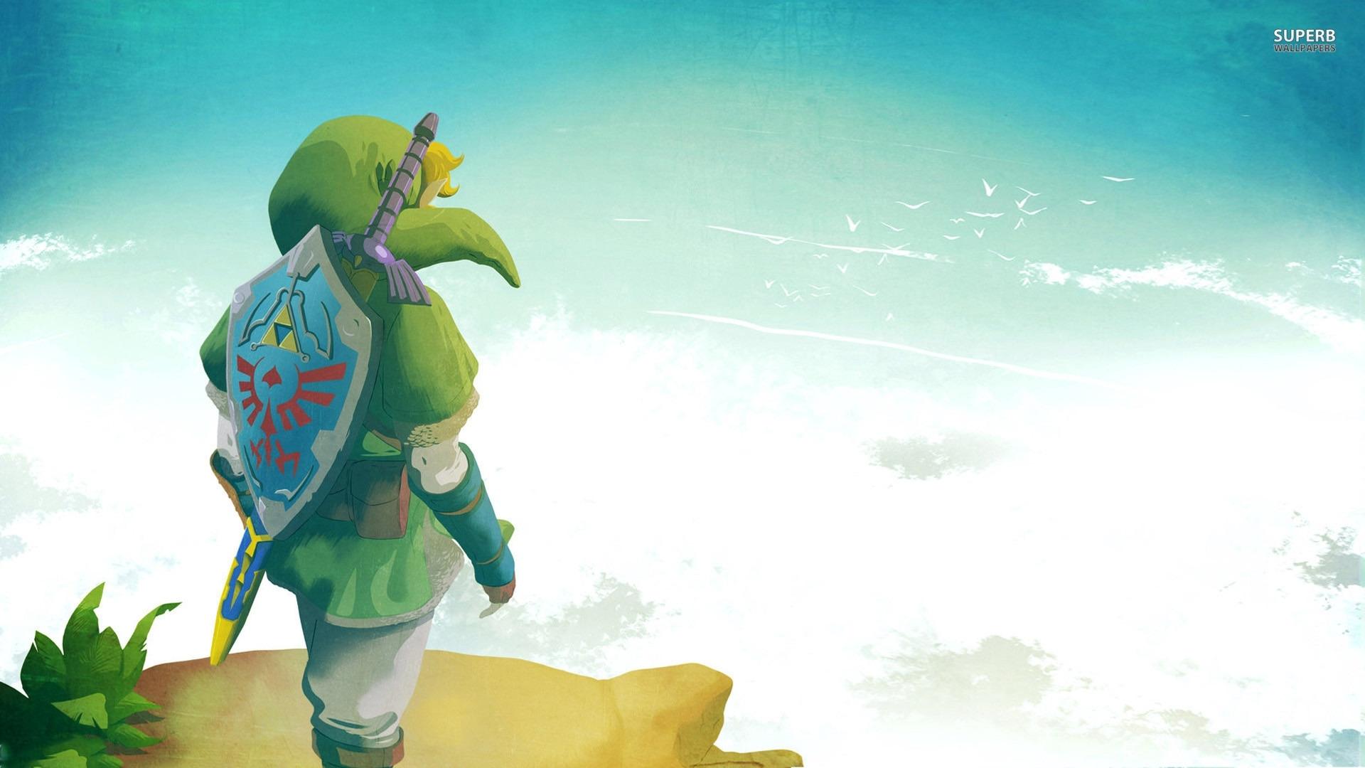 the legend of zelda: skyward sword wallpaper | parei!,pensei!,achei