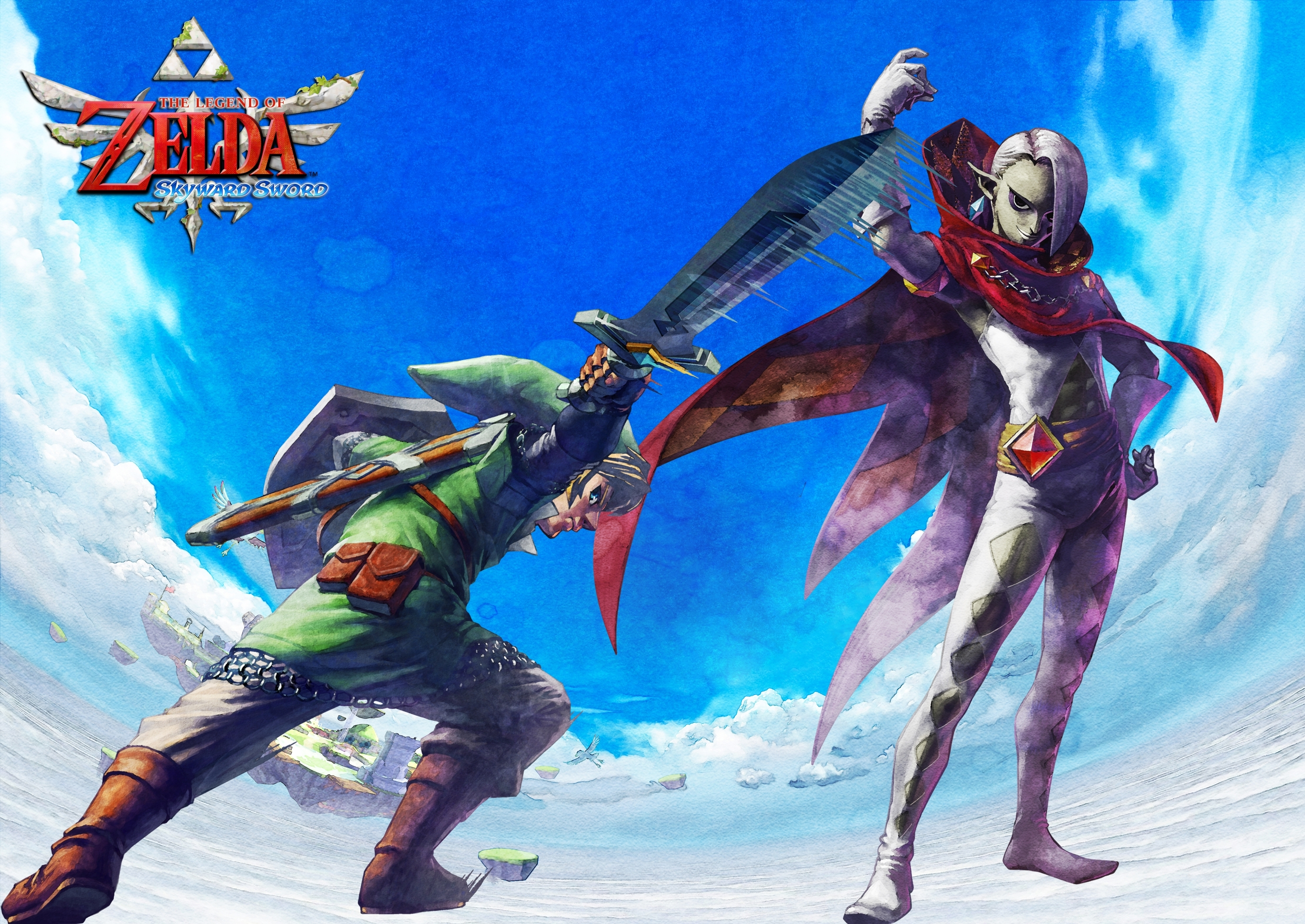 the legend of zelda: skyward sword wallpaper! - the legend of zelda