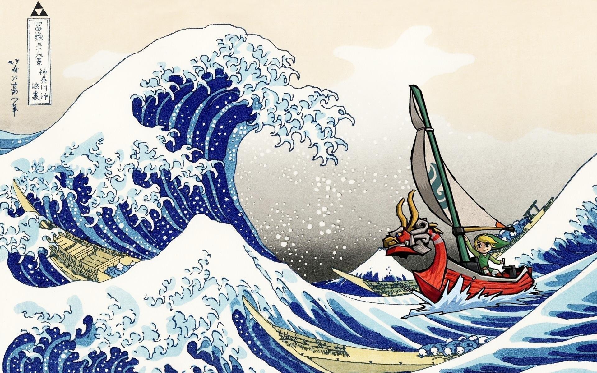 the legend of zelda: the wind waker full hd fond d'écran and arrière