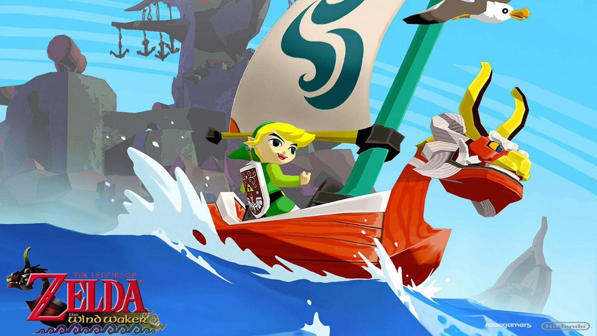 the legend of zelda: the wind waker hd full hd fond d'écran and