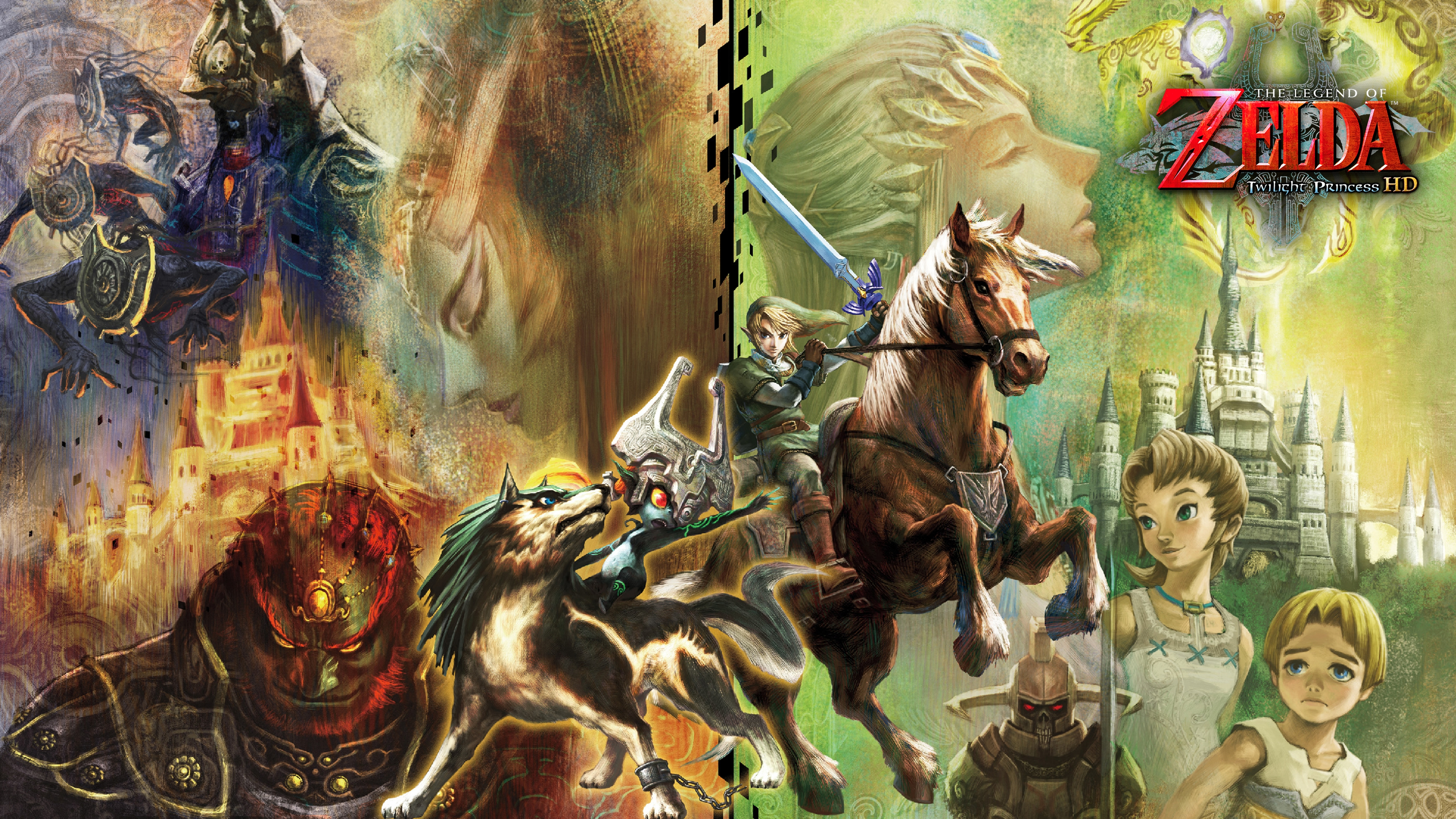 the legend of zelda: twilight princess hd 4k wallpaper 4k ultra hd