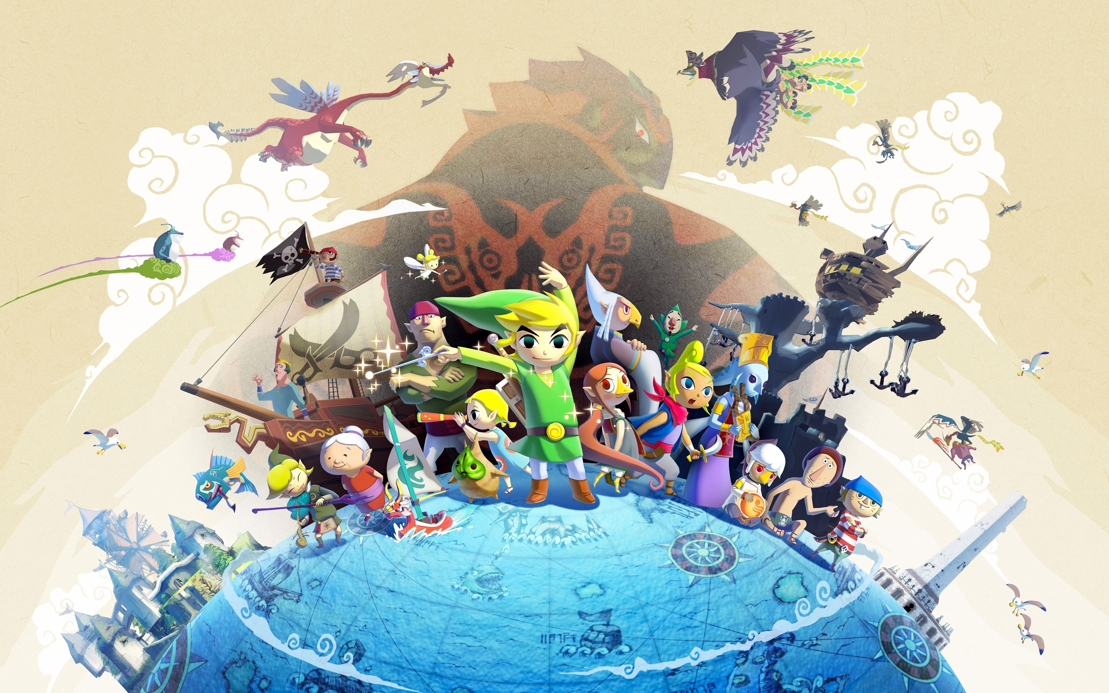 the legend of zelda: wind waker, video games, link, windwaker