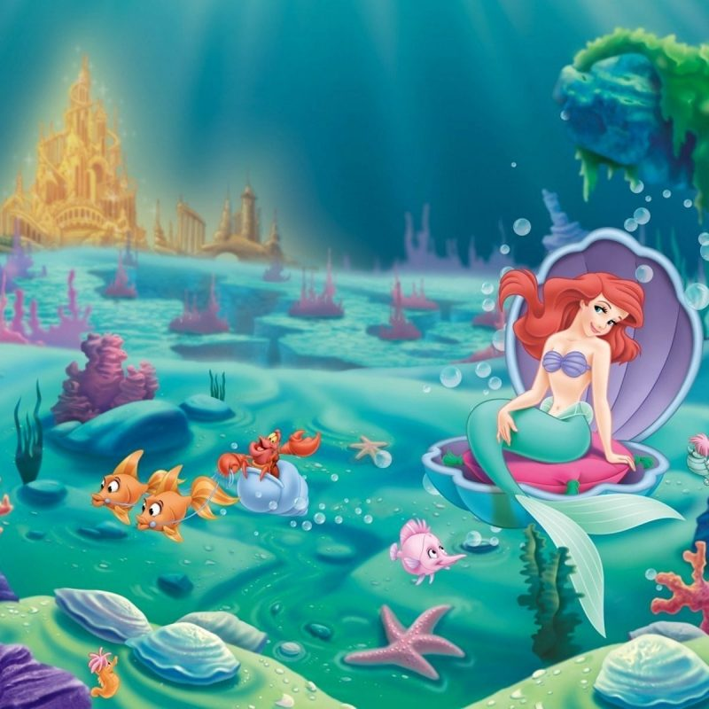 10 Latest The Little Mermaid Wallpaper FULL HD 1920×1080 For PC Background 2018 free download the little mermaid disney princess ariel and castle of underwater 800x800