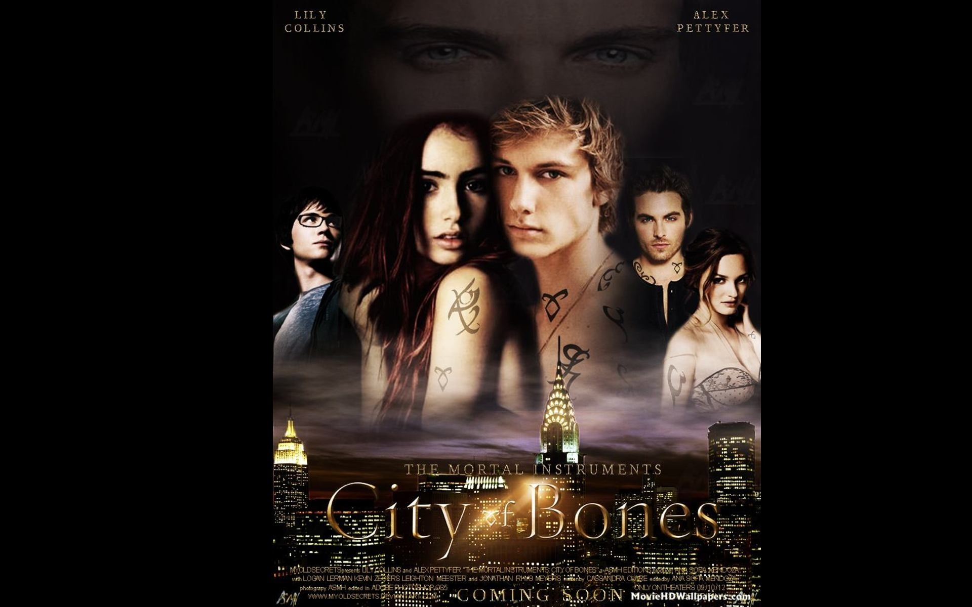 the mortal instruments city of bones (2013) - movie hd wallpapers