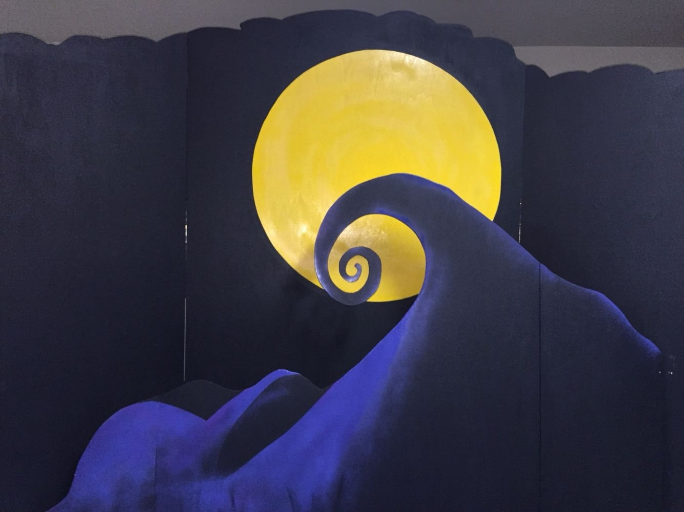 the nightmare before christmas backdrop | craft projects | pinterest