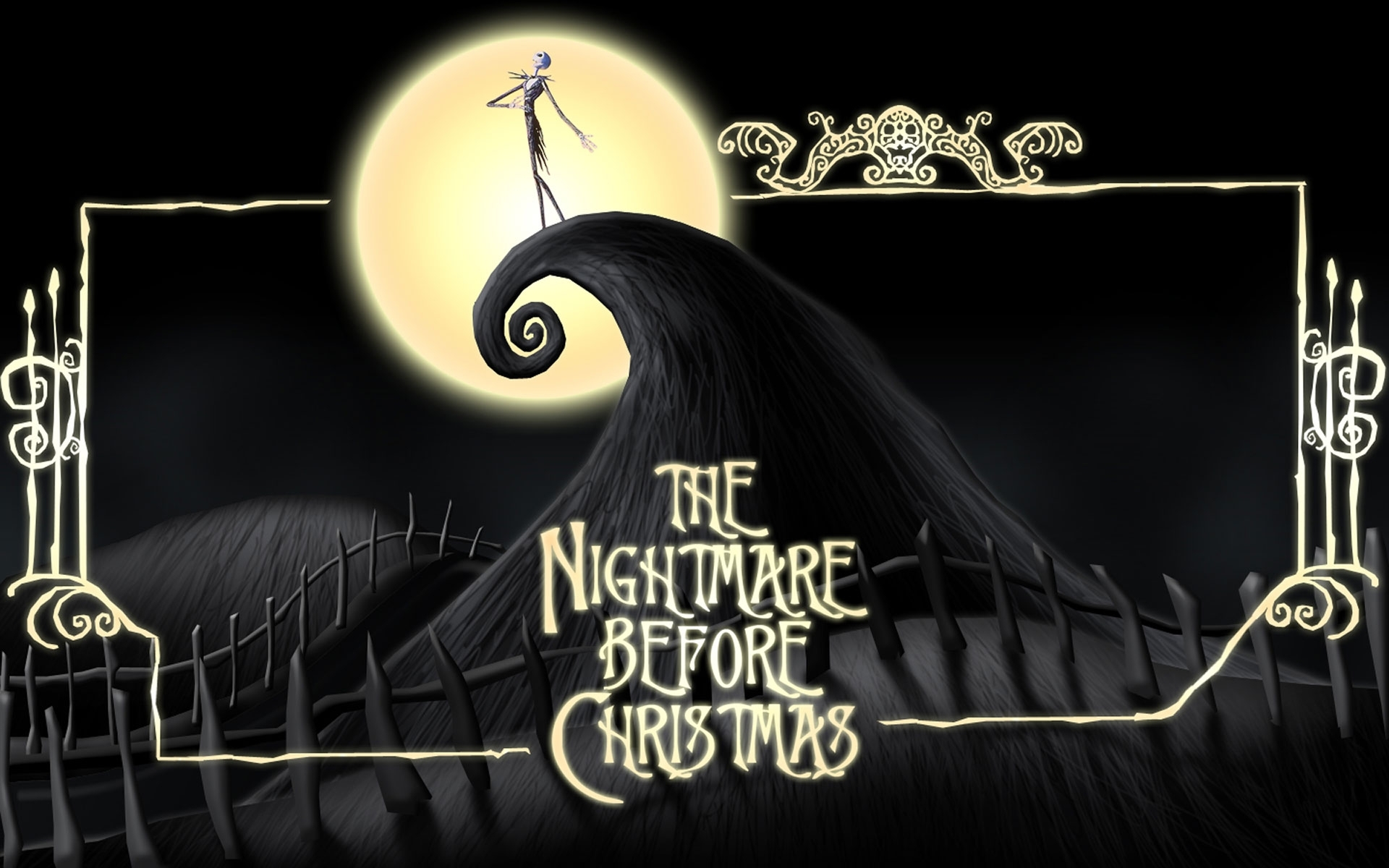 the nightmare before christmas full hd fond d'écran and arrière-plan