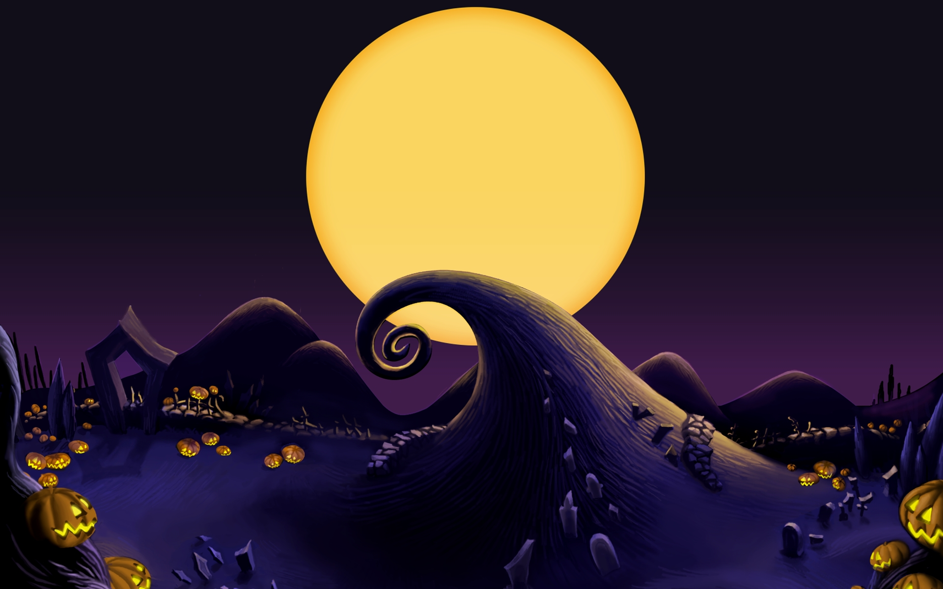 the nightmare before christmas wallpapers group (80+)