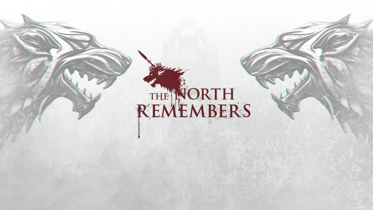 the north remembers wallpaper //snrdesigns on deviantart