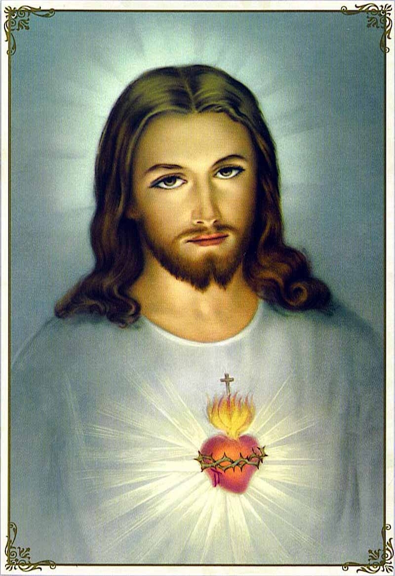 the sacred heart of jesus | peg pondering again