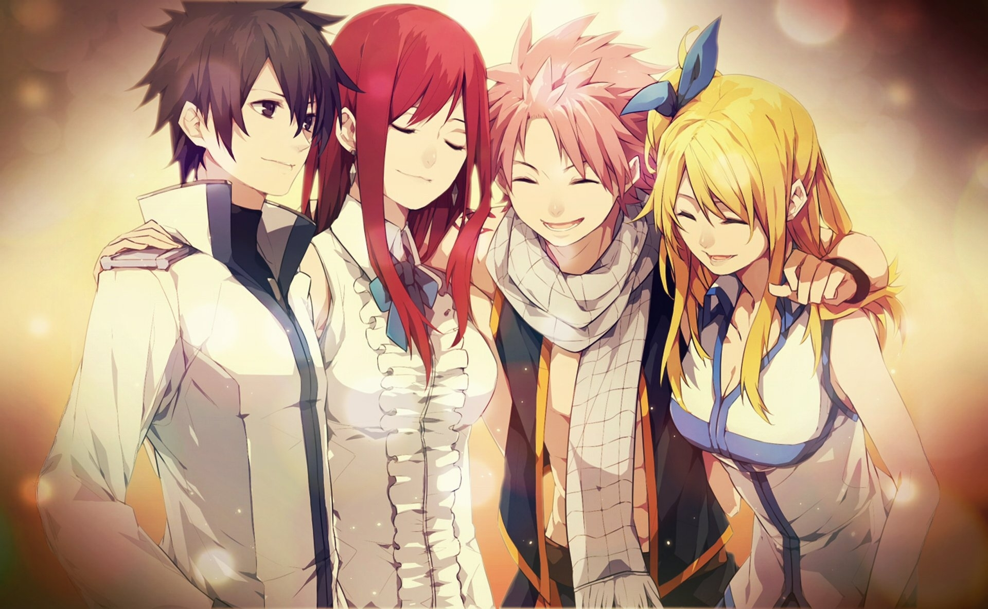the strongest team in fairy tail full hd fond d'écran and arrière