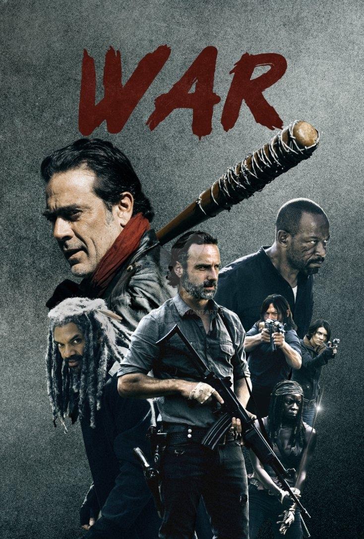the walking dead - season 8 posterjevangood on deviantart
