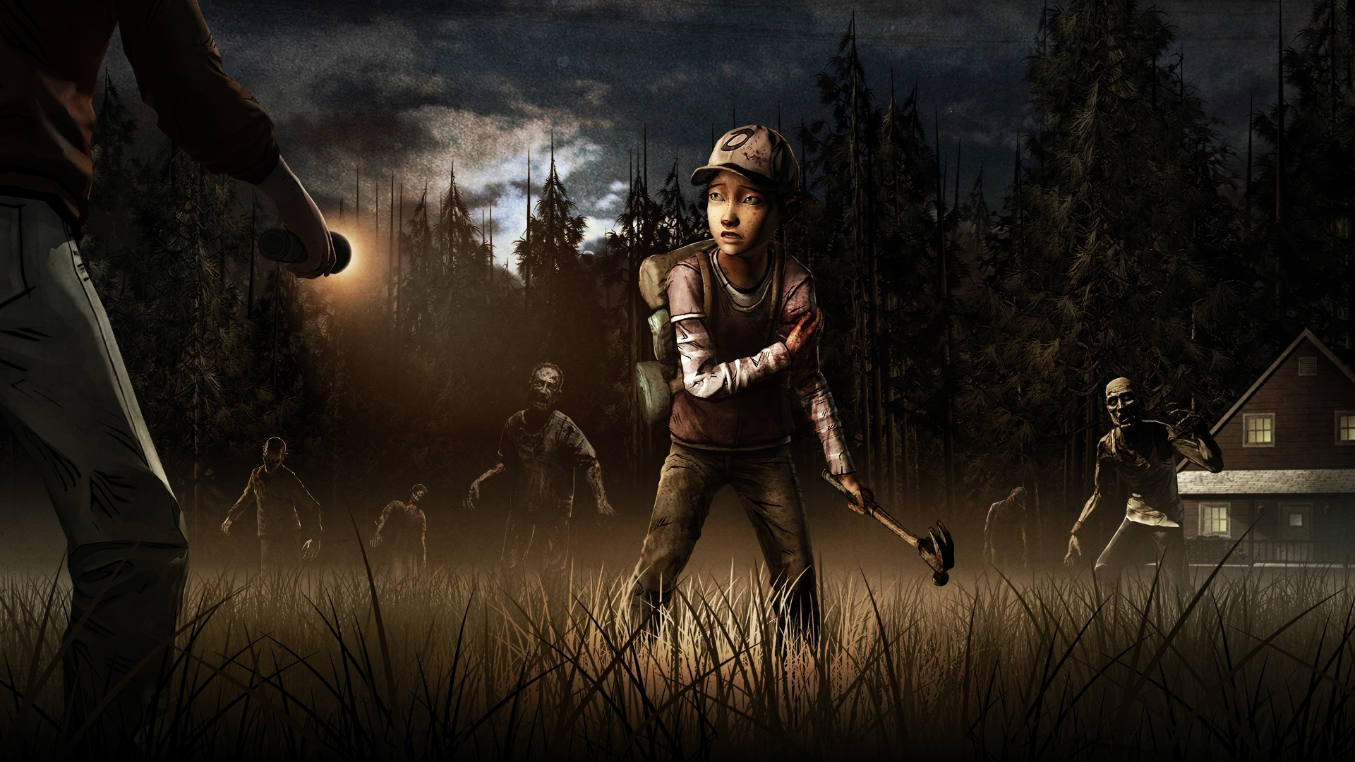 the walking dead: the game season 2 full hd fond d'écran and arrière