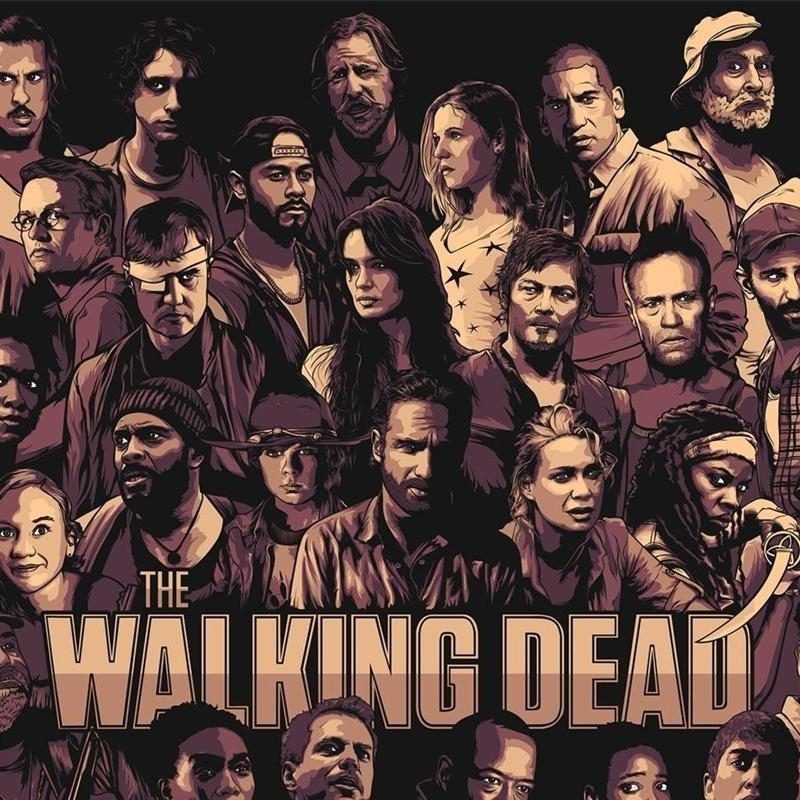 10 Best The Walking Dead Wallpaper Free FULL HD 1920×1080 For PC Desktop 2020 free download the walking dead wallpapers gzsihai 1 800x800