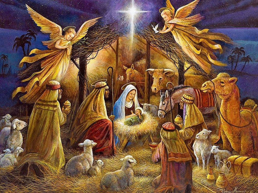 the war on christmas | christmas nativity, birth and angel