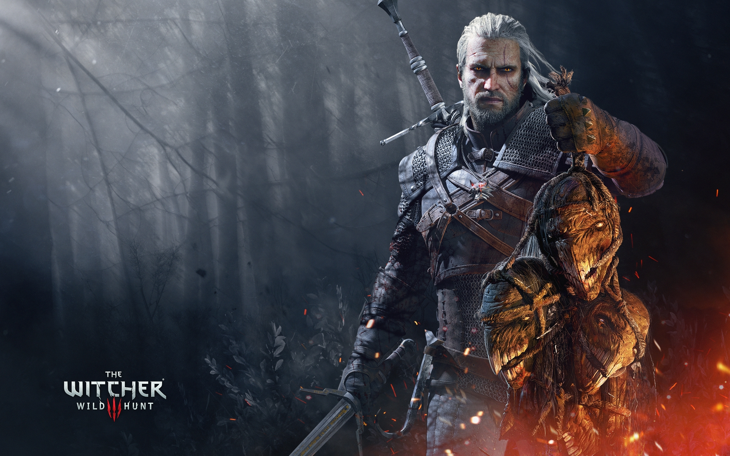 the witcher 3 wild hunt geralt trophies wallpapers | hd wallpapers