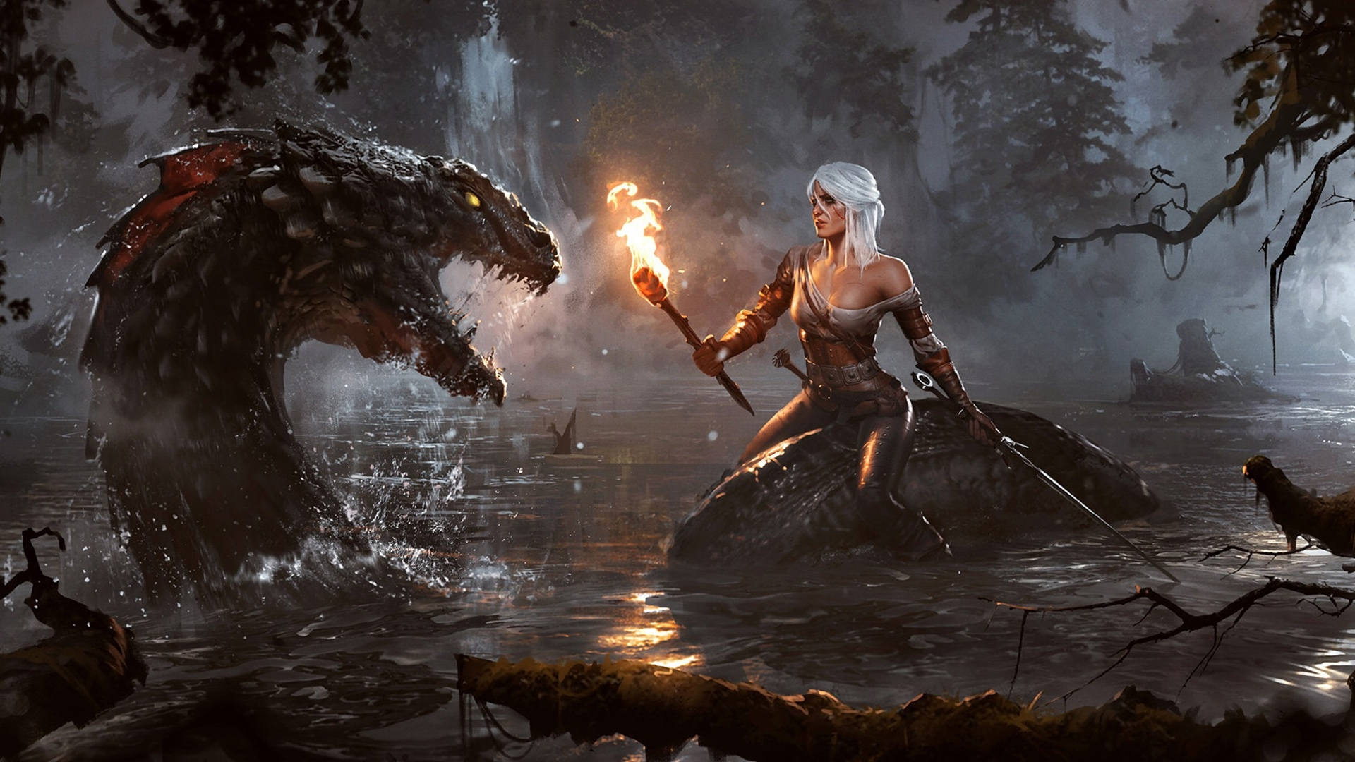 10 Latest Witcher 3 1920x1080 Wallpapers Full Hd 1920 1080