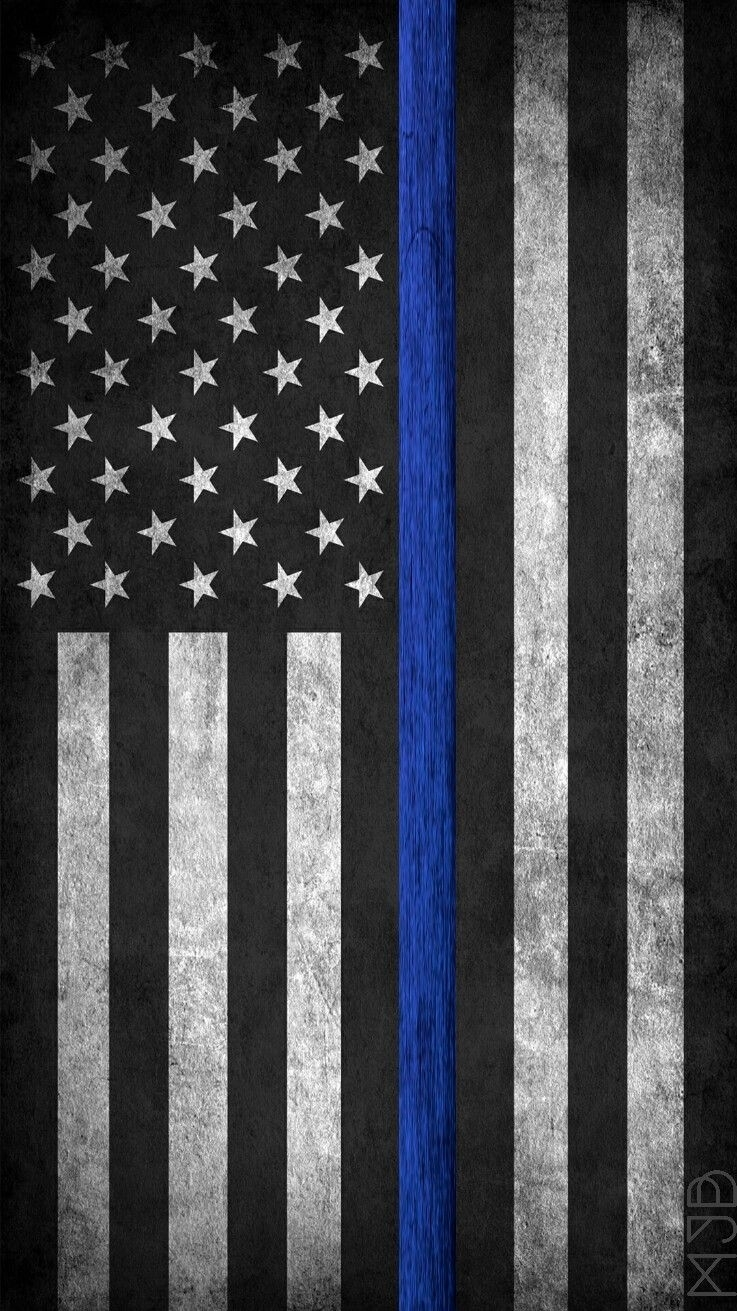 thin blue line phone wallpaper | post | pinterest | wallpaper