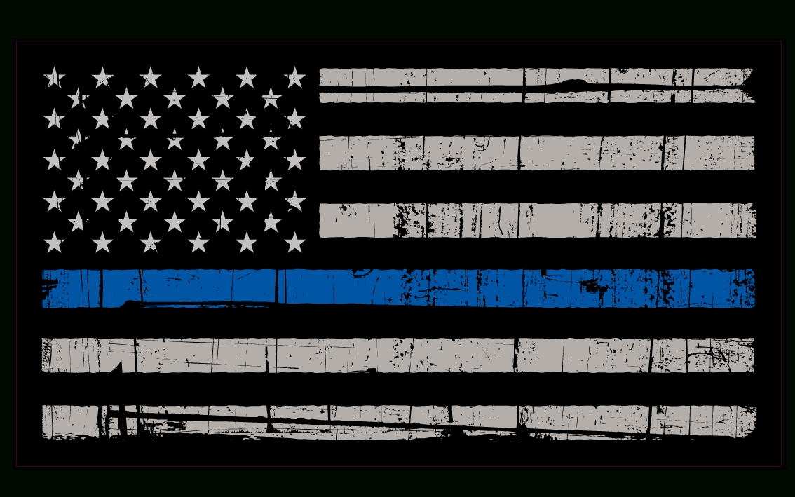 thin blue line wallpapers - wallpaper cave