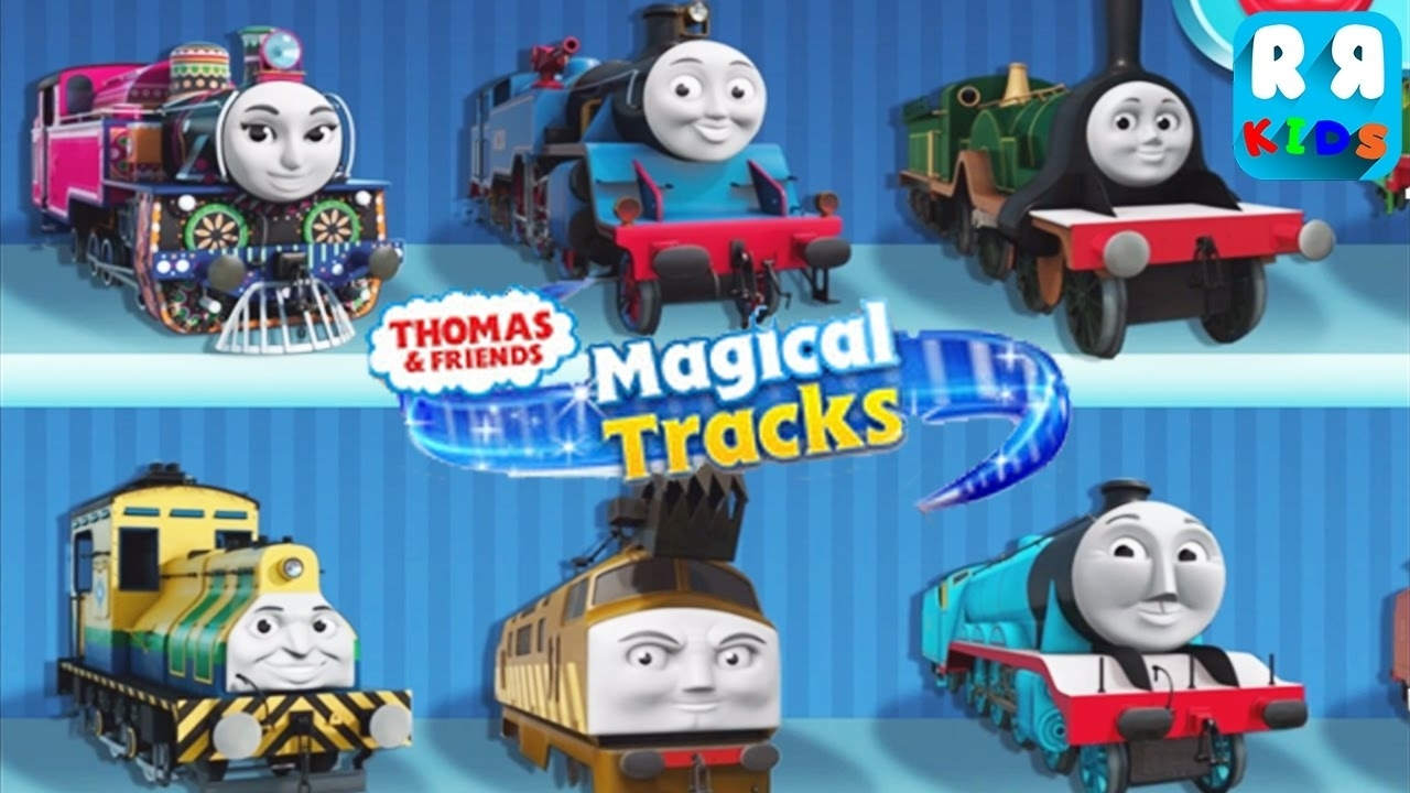 thomas and friends: magical tracks - kids train set (by budge