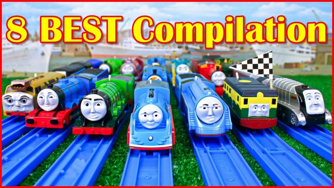 thomas and friends the great race trackmaster compilation | thomas