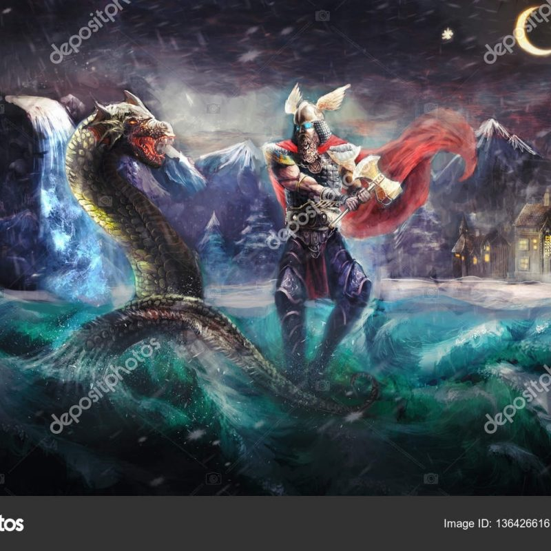 10 New Thor Norse God Wallpaper FULL HD 1080p For PC Desktop 2021 free download thor fighting serpent norse mythology stock photo vukkostic91 800x800