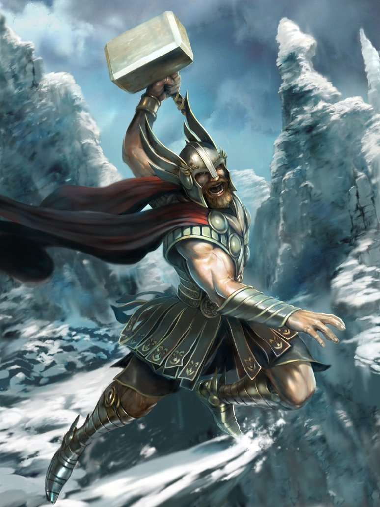 thor the norse god - stage 1m0zch0ps on deviantart
