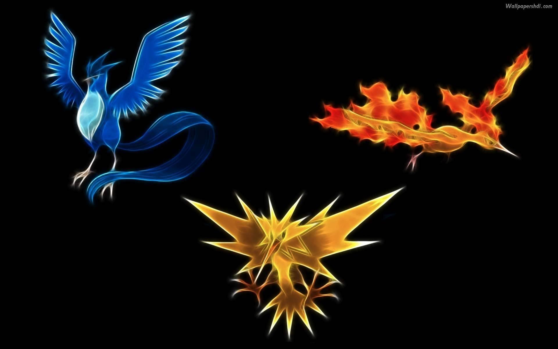 three legendary birds pokemon legends roblox (articuno,zapdos