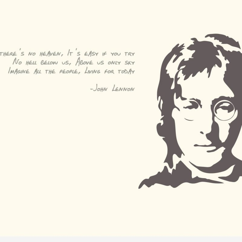 10 Most Popular John Lennon Wall Paper FULL HD 1080p For PC Desktop 2018 free download top john lennon quotes images and wallpapers 800x800