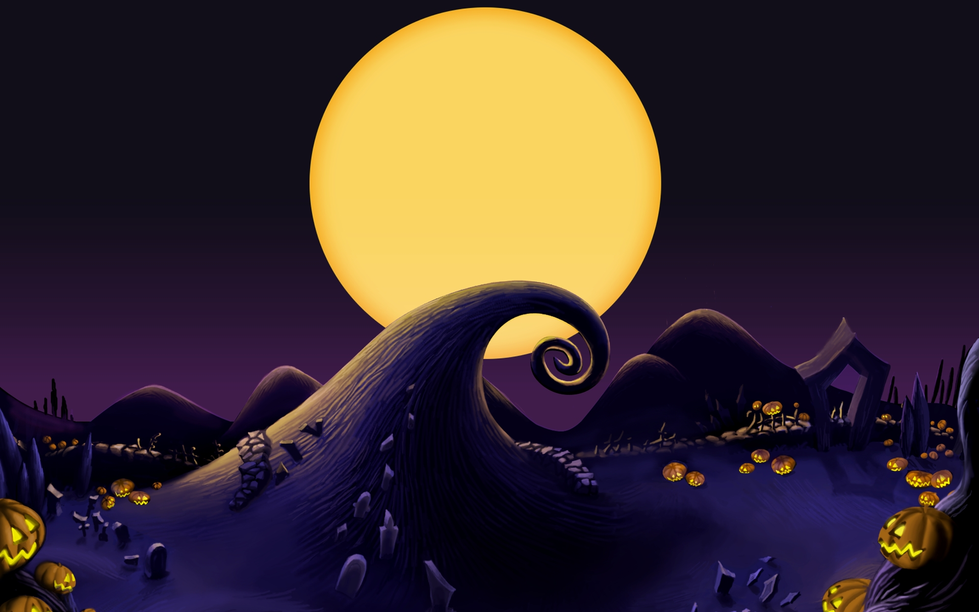 top wallpapers 2016: the nightmare before christmas wallpapers, best